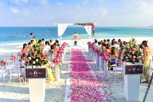 beach wedding bali beaches