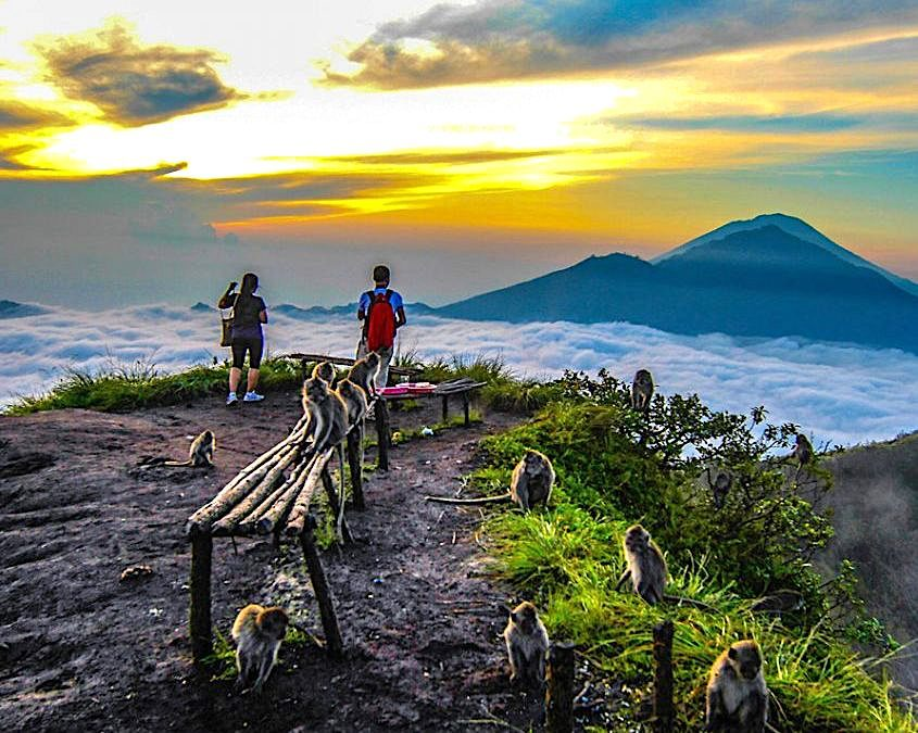 Mount Batur Sunrise Hike & Natural Springs